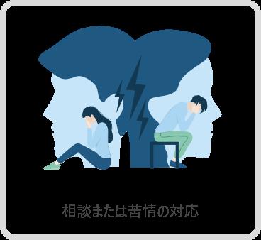 相談または苦情の対応